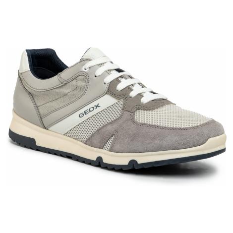 Sneakersy GEOX - U Wilmer C U023XC 01422 C1010 Lt Grey
