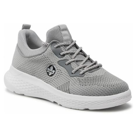 Sneakersy RIEKER - 48563-42 Grau