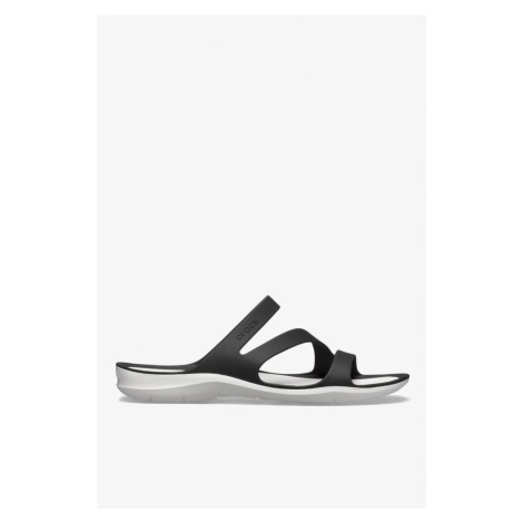 Sandały Crocs Swiftwater Sandal W 066 Black White