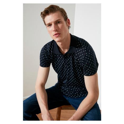 Koszula polo męska Trendyol Printed