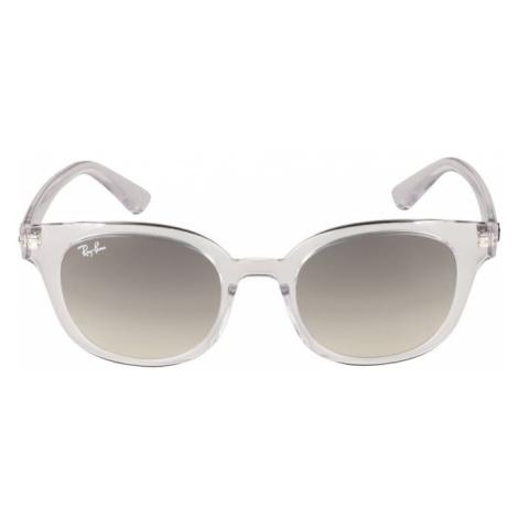 Ray-Ban Okulary przeciwsłoneczne '0RB4324' szary / biały