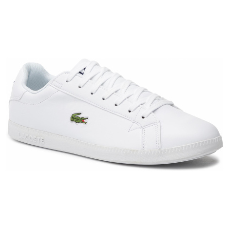 Sneakersy LACOSTE - Graduate Bl 1 SMA 737SMA005321G Wht/Wht