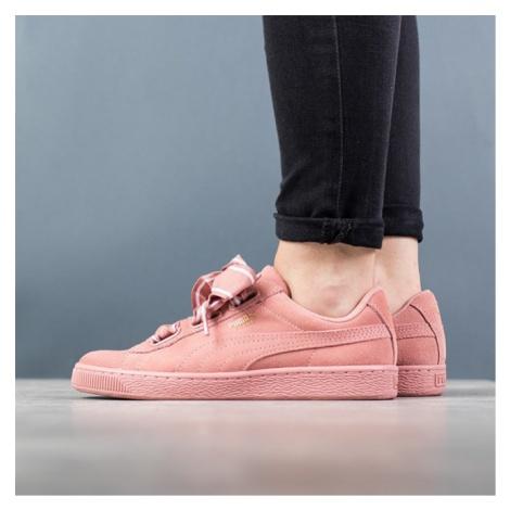 Buty damskie sneakersy Puma Suede Heart Satin II 364084 03