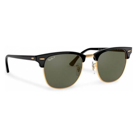 Ray-Ban Okulary przeciwsłoneczne Clubmaster 0RB3016 Czarny