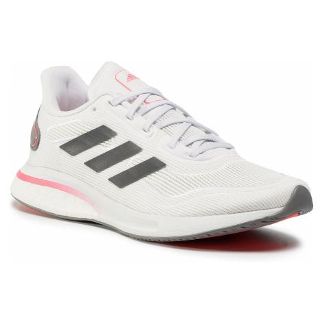 Buty adidas - Supernova W FV6020 Cloud White/Grey Five/Signal Pink