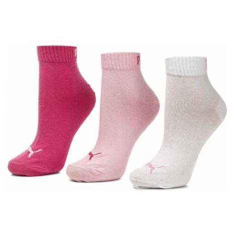 Zestaw 3 par niskich skarpet damskich PUMA - 271080001 Pink Lady 422