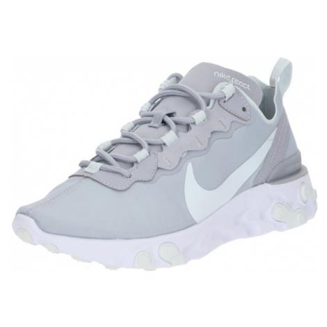Nike Sportswear Trampki niskie 'React 55' jasnoszary / biały