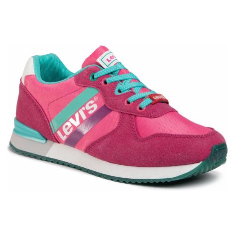 Sneakersy LEVI'S - VSPR0021T Fuxia Green 1584 Levi´s