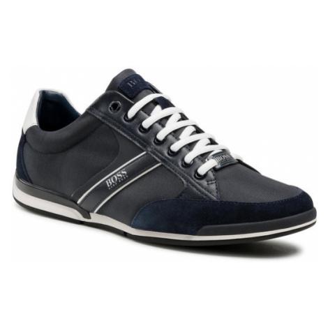 Boss Sneakersy Saturn 50407672 10216105 01 Granatowy Hugo Boss