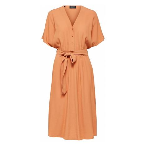 SELECTED FEMME Sukienka pomarańczowy