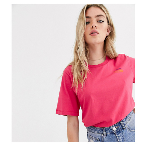 The North Face Boyfriend Simple Dome t-shirt in pink