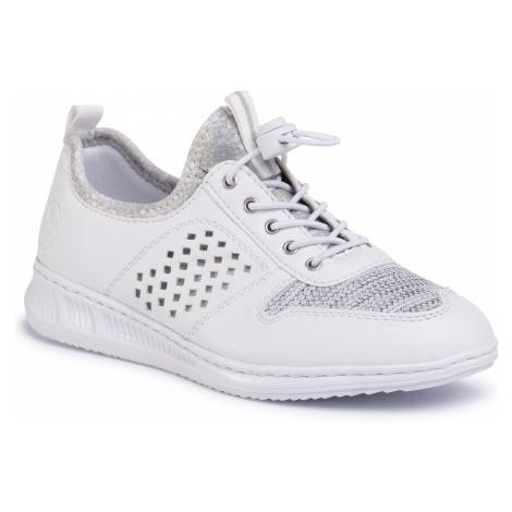 Sneakersy RIEKER - N3178-80 Weiss