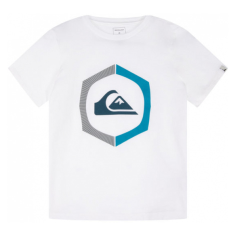 Quiksilver T-Shirt Sure Thing EQBZT04140 Biały Regular Fit