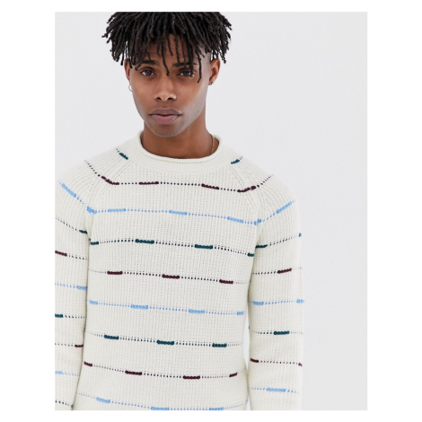 Jack & Jones Originals Knitted Jumper With Mixed Fleck