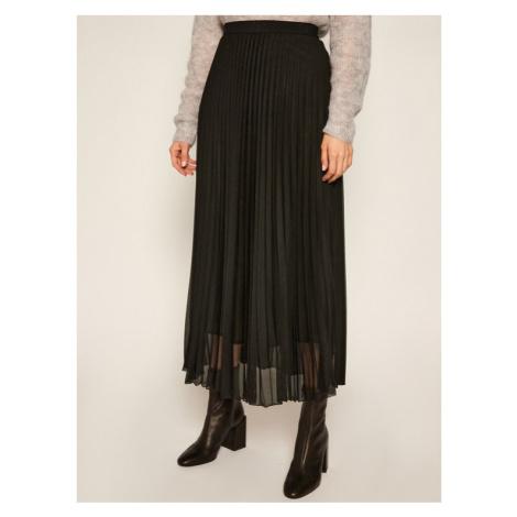 Marella Spódnica plisowana Brama 37760109 Czarny Regular Fit