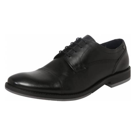 Base London Buty sznurowane czarny