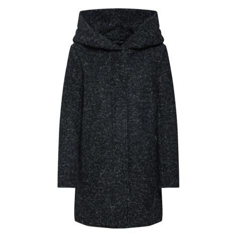 ONLY Płaszcz przejściowy nakrapiany czarny