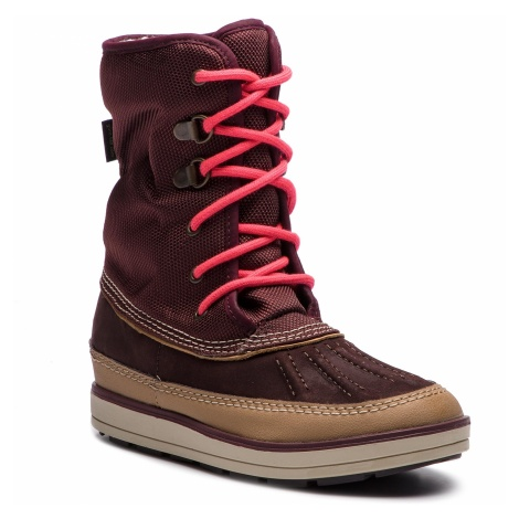 Śniegowce CLARKS - Arrow Moon Gtx GORE-TEX 261378837 Burgundy Combi