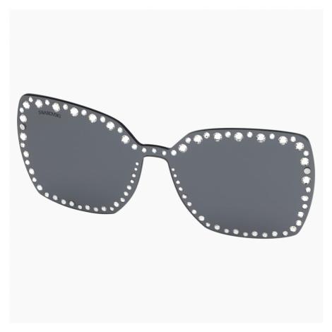 Nakładki na okulary przeciwsłoneczne Swarovski, SK5330-CL 16A, szare