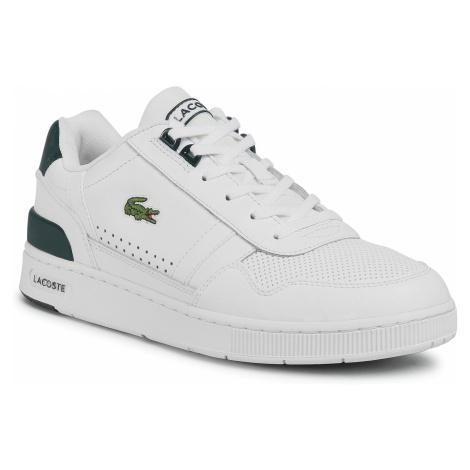Sneakersy LACOSTE - T-Clip 0120 4 Sma 7-40SMA00501P5 Wht/Dk Grn