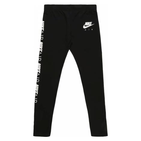 Nike Sportswear Legginsy 'G NSW TGHT FAVORITES AIR' czarny