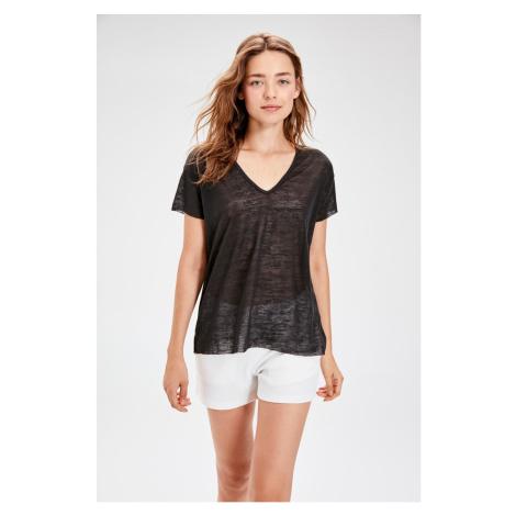 Trendyol Plenty of Basic t-shirt black
