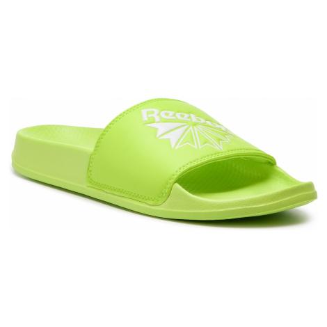 Klapki Reebok - Classic Slide DV4100 Neon Lime/White