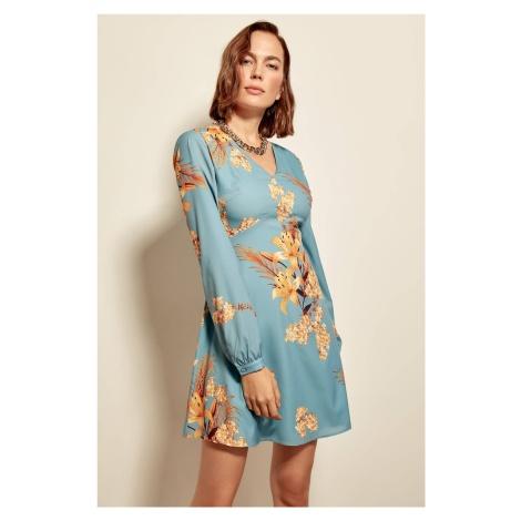 Trendyol Multicolored Patterned Dress