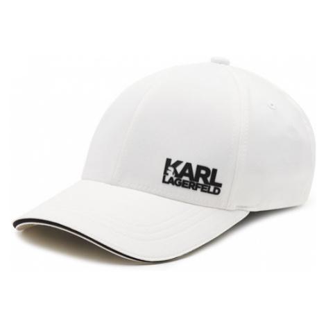 KARL LAGERFELD Czapka z daszkiem 805612 511122 Biały
