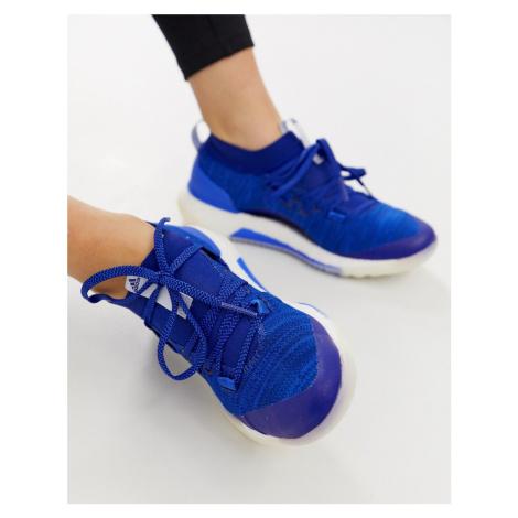 Adidas PureBOOST 3.0 trainer in navy