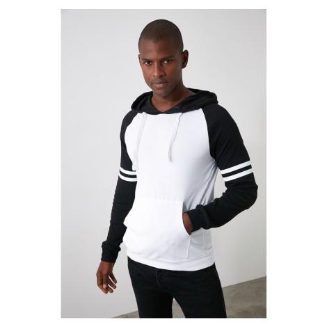 Bluza z kapturem męska Trendyol Color Block