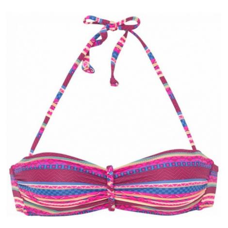 BUFFALO Góra bikini 'Lux' ciemnoróżowy