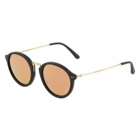 Kapten & Son Okulary przeciwsłoneczne 'Maui' pomarańczowo-czerwony / czarny