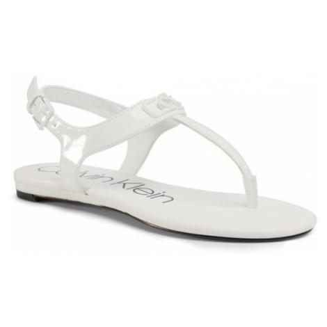 Calvin Klein Sandały Shamary B4E7933 Biały
