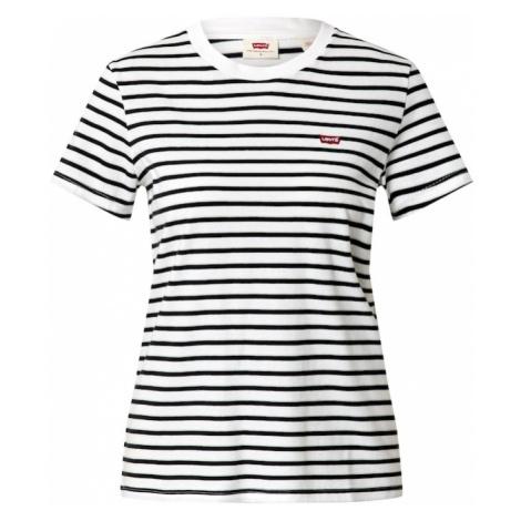 LEVI'S Koszulka biały / czarny Levi´s