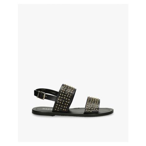 Sandały czarne Lila Badura