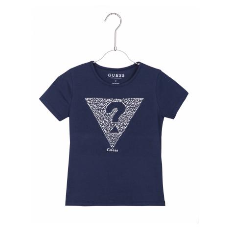 Guess Koszulka dziecięce Niebieski