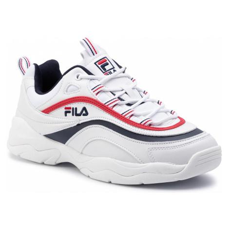 Sneakersy FILA - Ray Low 1010561.150 White/Fila Navy/Fila Red