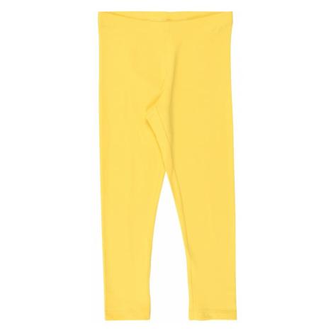 NAME IT Legginsy żółty