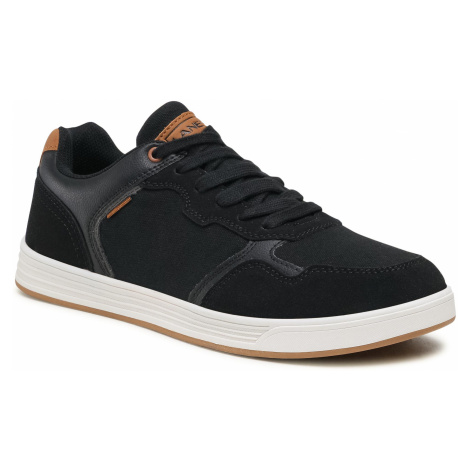 Sneakersy LANETTI - MP07-01426-01 Black