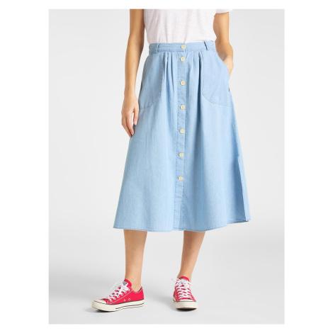"Lee ""Chambray Skirt"" Summer Blue"