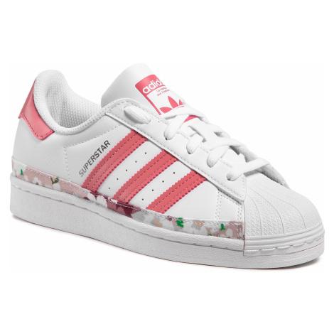 Buty adidas - Superstar J FY5373 Ftwwht/Hazros/Hazros
