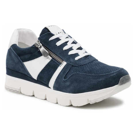 Sneakersy MARCO TOZZI - 2-23754-26 Navy Comb 890
