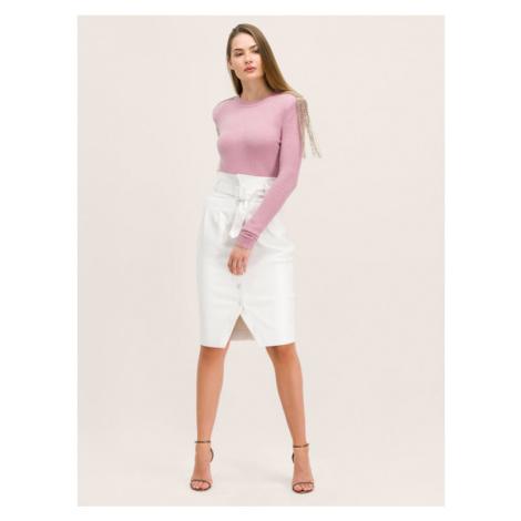Patrizia Pepe Sweter 2M3772/A5P2-R659 Różowy Regular Fit