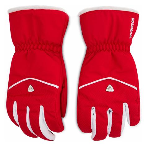 Czerwone damskie rękawiczki