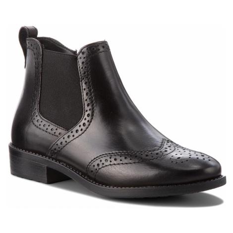 Botki TAMARIS - 1-25493-21 Black Leather 003