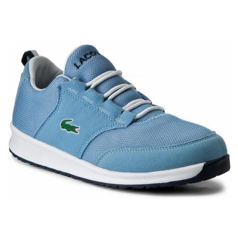 Sneakersy LACOSTE - L/ight 217 1 Spj 7-33SPJ1005LB2 Lt Blu/Lt Blu