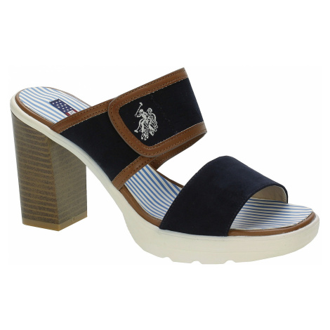 sandały U.S.Polo Assn. Nicole - Dark Blue U.S. Polo Assn