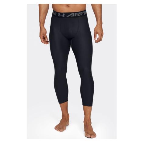 Czarne męskie sportowe legginsy