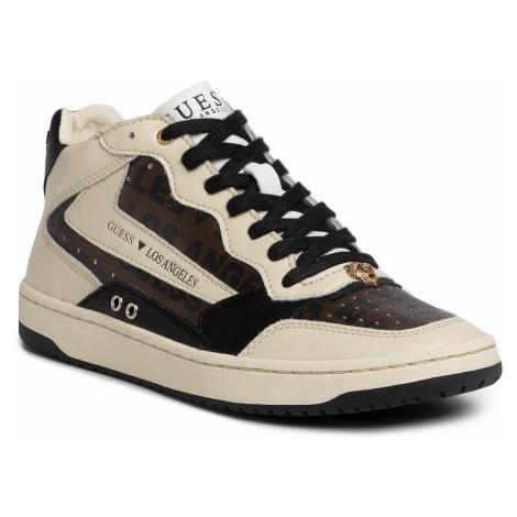 Sneakersy GUESS - Pesaro Mid FM7PEM FAL12 BLKGR